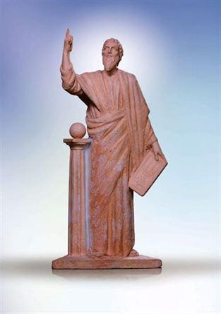 скульптура пифагор