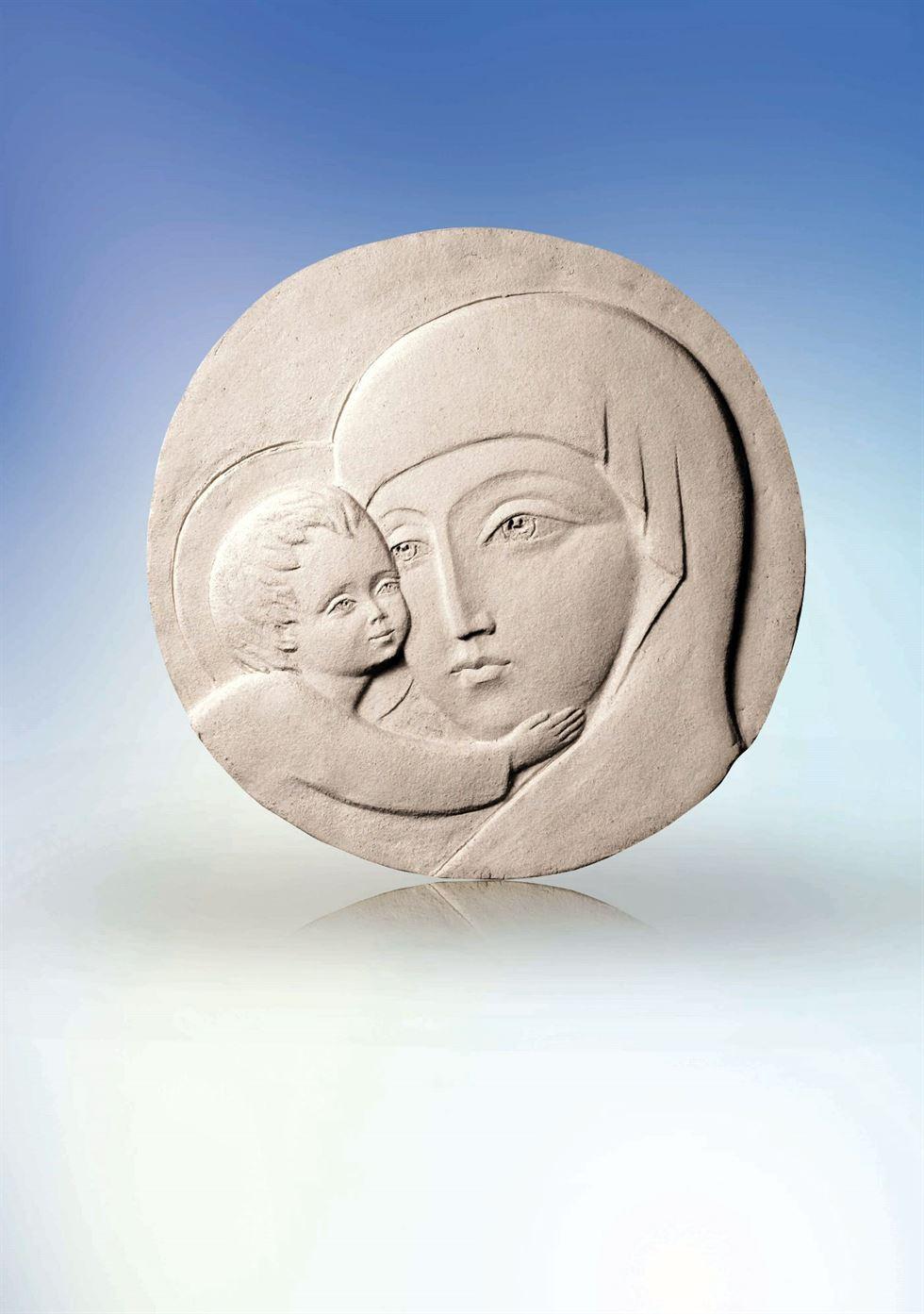 скульптура богородица