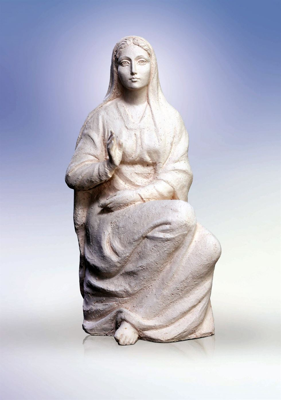 скульптура мария