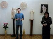 Моление в скульптуре». Выставка скульптур А. Леонова в Иркутске.
