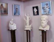Выставка скульптур Алексея Леонова в Артемовском краеведческом музее