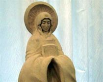 Выставка Алексея Леонова в Симферополе. - skulptura2 1 300x240
