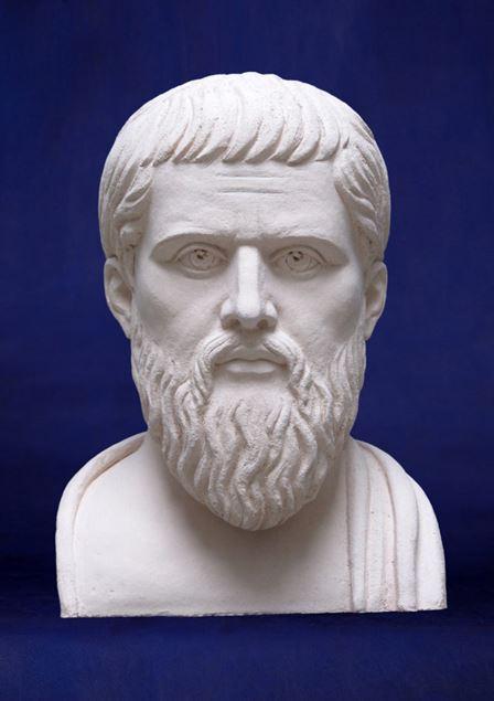 скульптура Платон