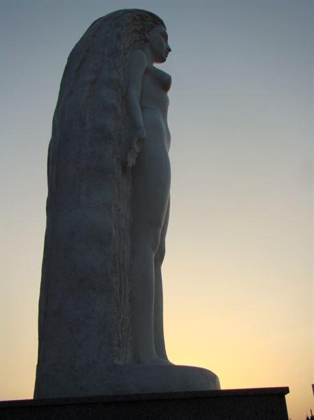Муза Скульптуры Взгляд из Атлантиды