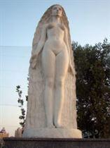 Муза Скульптуры (Взгляд из Атлантиды). Аллея муз