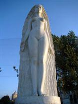 Муза Скульптуры (Взгляд из Атлантиды). Аллея муз в г. Киеве Искусственный камень