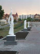 Аллея муз г. Киев