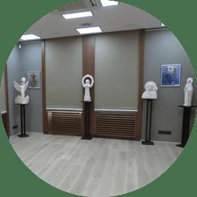 скульптура на выставке