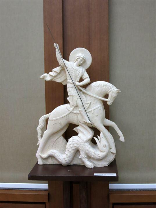 скульптура победоносец