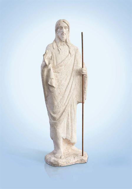 скульптура иисус христос