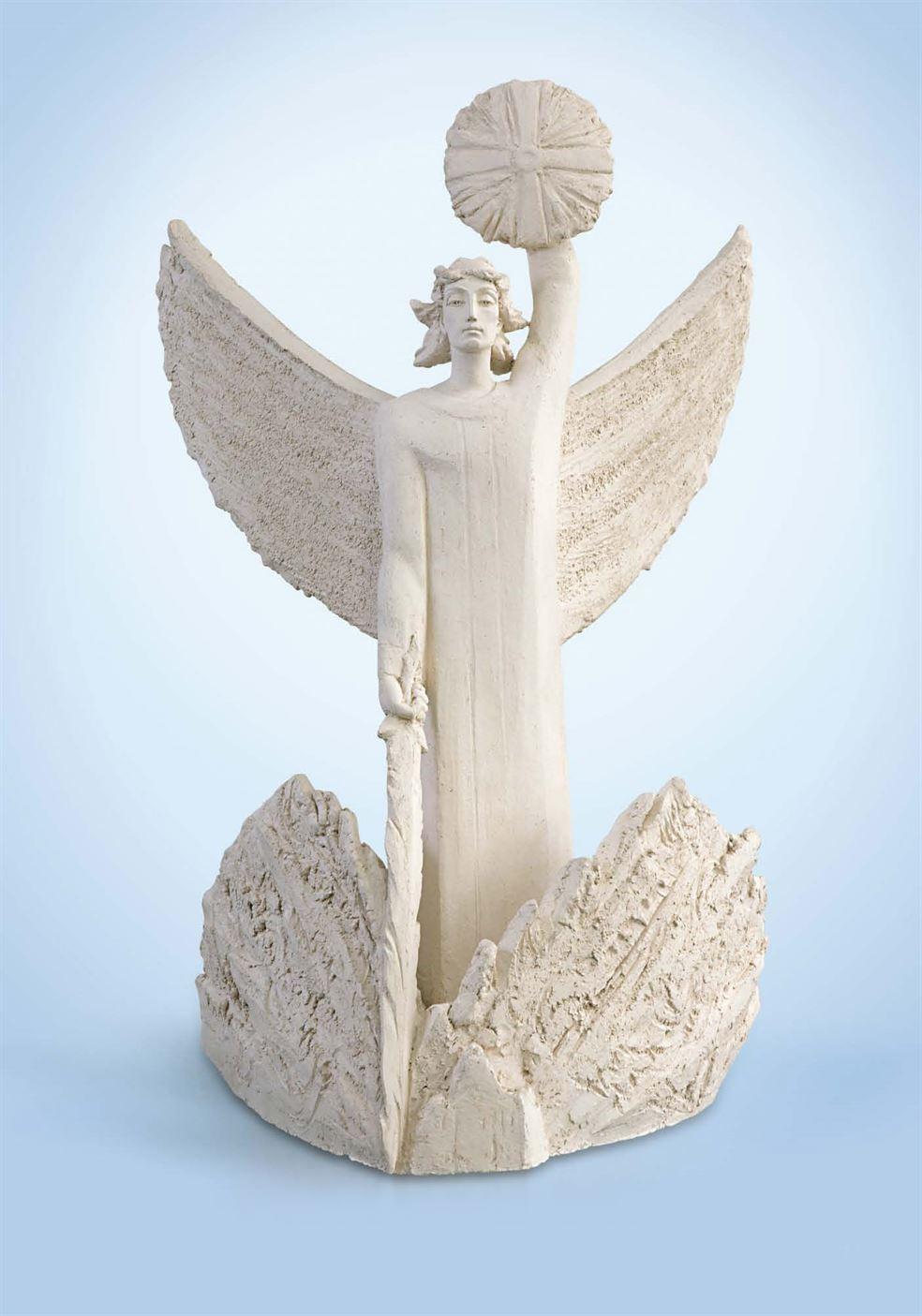 скульптура архангел