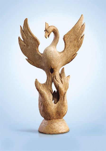 скульптура птица