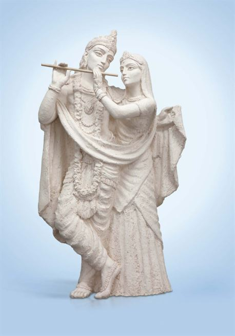 скульптура кришна