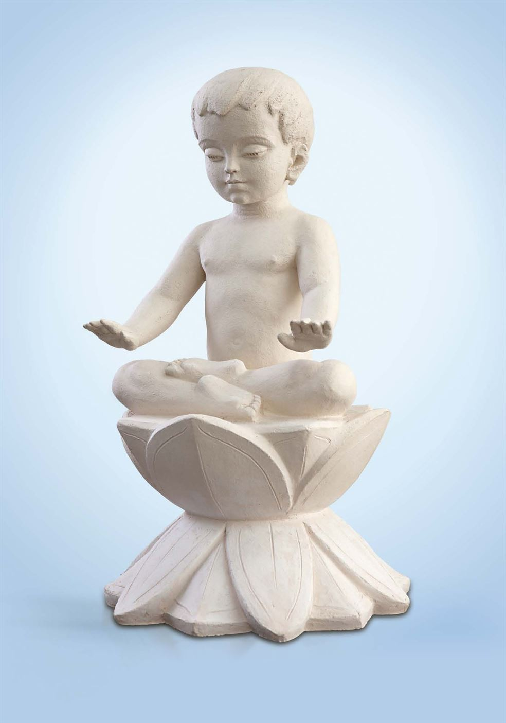 скульптура малыш