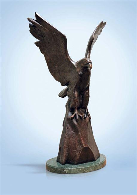 скульптура бронзовый орел