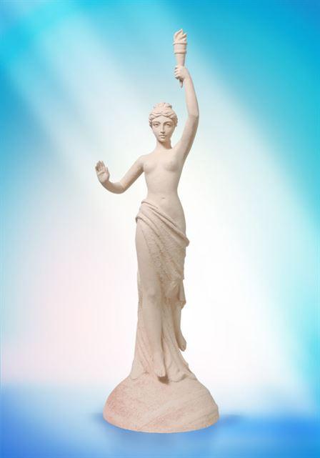 модерн в скульптуре