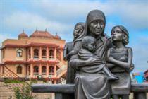 Памятник детьми