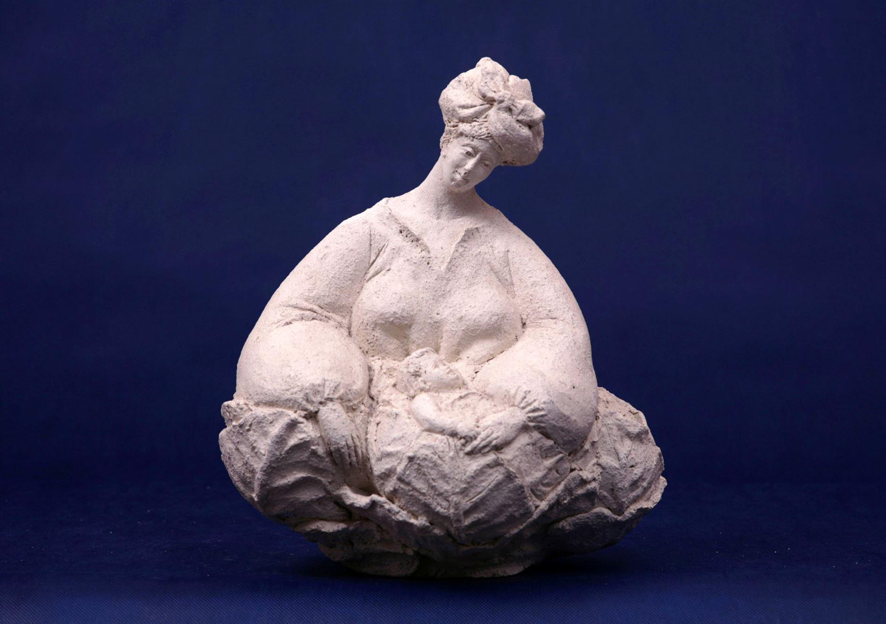 скульптура женщины