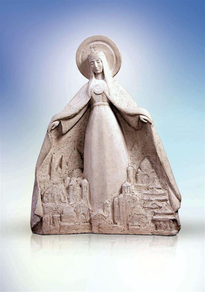 скульптура святая покровительница