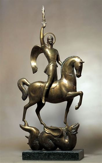 ArchangelMichaelSculpture