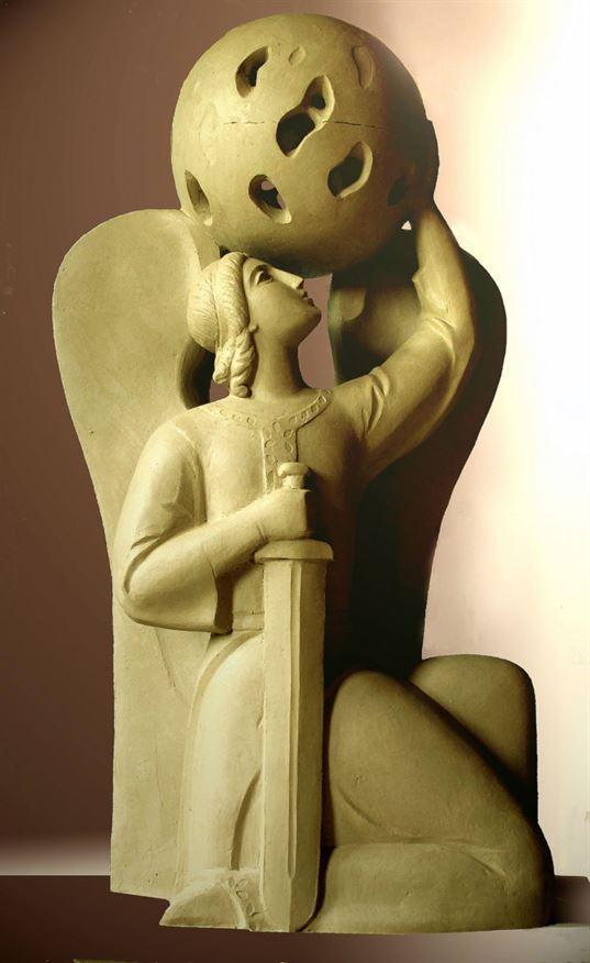 Ангел Хранитель. Светильник. 2012. -  хранитель светильник 2012 768x1252