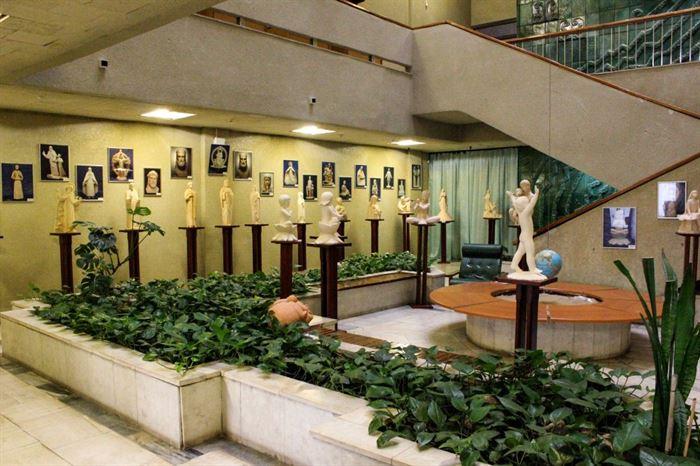 Выставка А. Леонова «Молитва в скульптуре» в г. Тольятти
