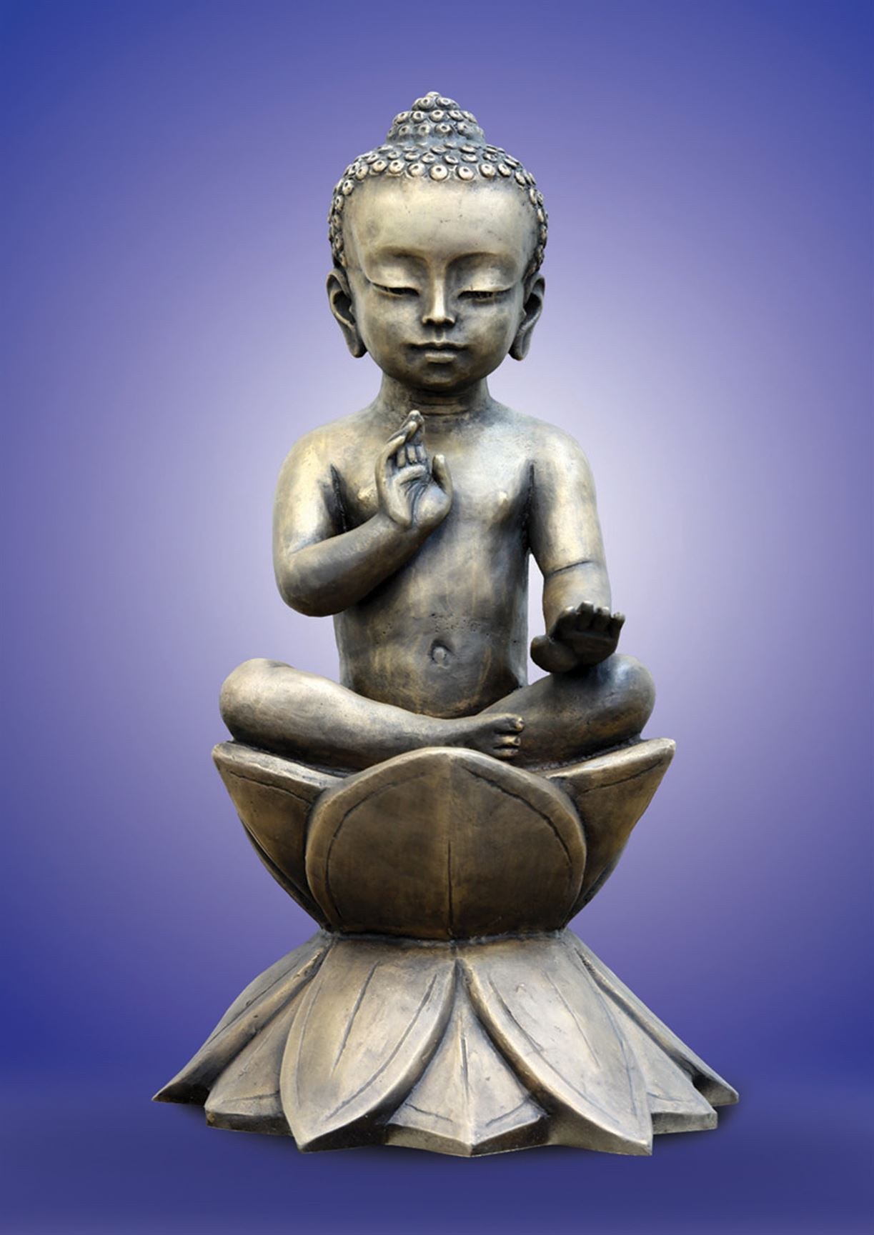 скульптура маленький будда