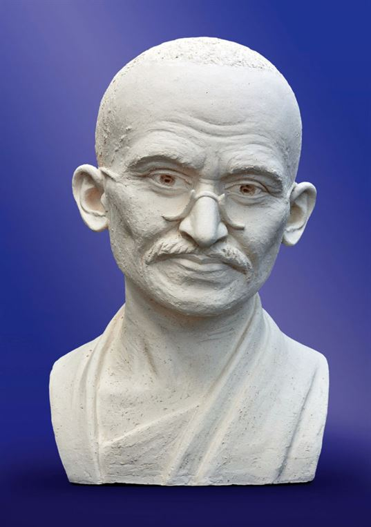 Mahatma Gandhi. 2011. Great Teachers of Humanity eхhibition.  ETNOMIR  Cultural Education Center - 9 768x1090