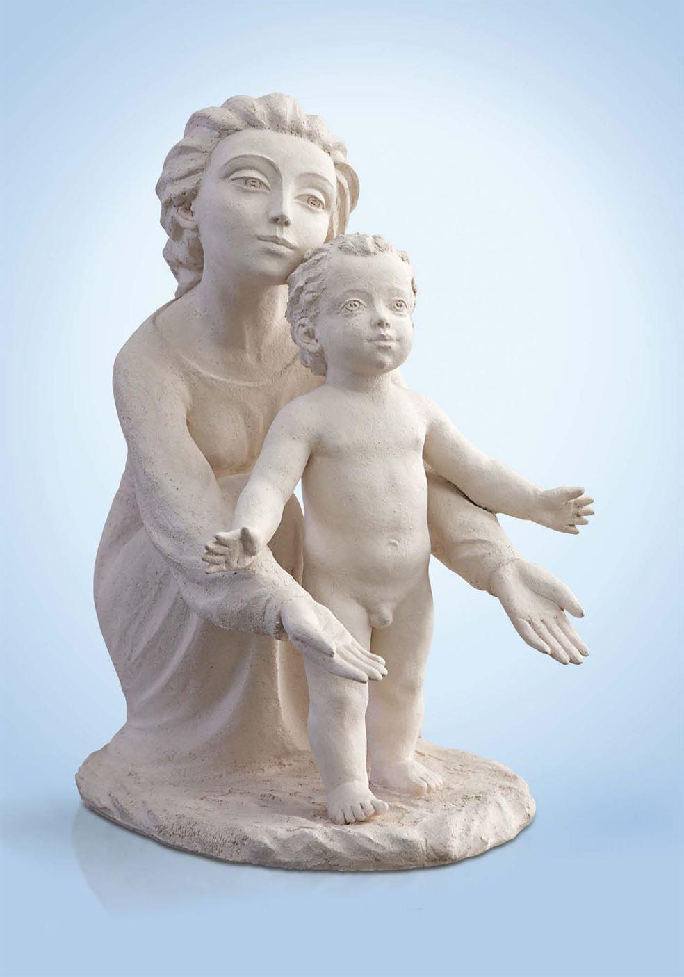 скульптура мама