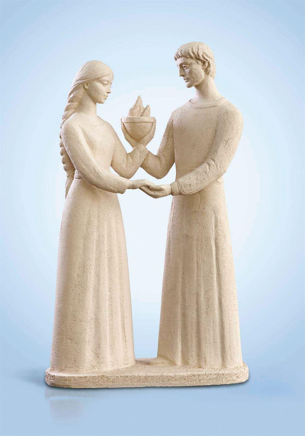 скульптура семья