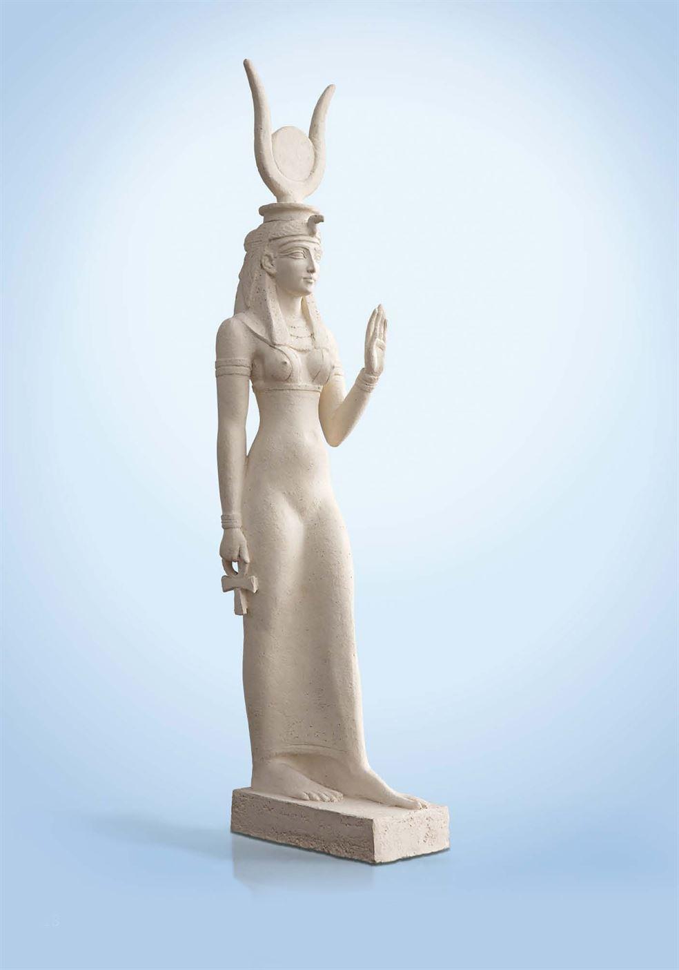 скульптура египетской богини