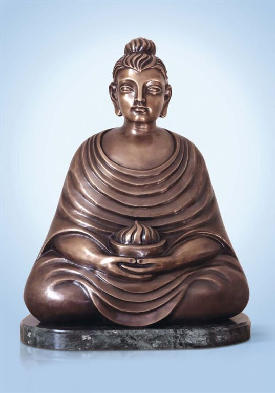 Buddha with a bowl of flame. 2013. - Katalog Page 51 768x1097