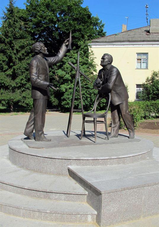Памятник К.Э. Циолковскому и С.П. Королёву. 2011. - img 4049 768x1090