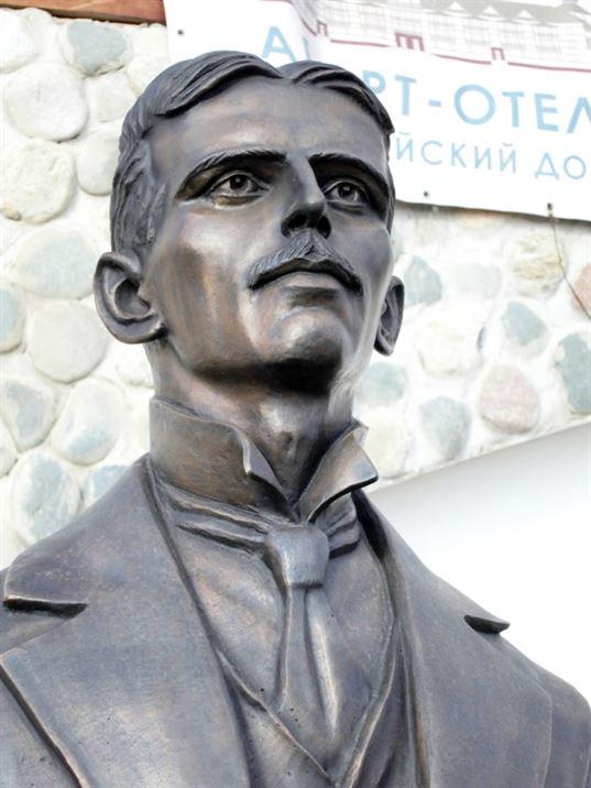 Памятник Николе Тесле на территории Культурно-образовательного центра «ЭТНОМИР». - IMG 8418 768x1024