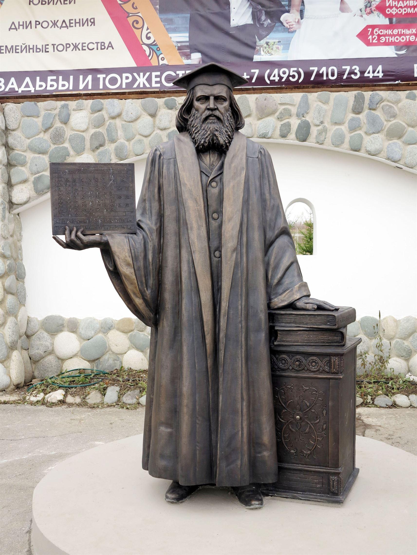 Памятник Д.И. Менделееву на территории  Культурно-образовательного центра «ЭТНОМИР». - 20