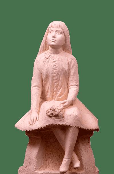 Інтер'єрна скульптура з шамоту