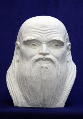 "Lao Tzu. 2010. ""Great Teachers of Humanity""  eхhibition.  ""ETNOMIR"" Cultural Education Center - lao czzy 282x400"