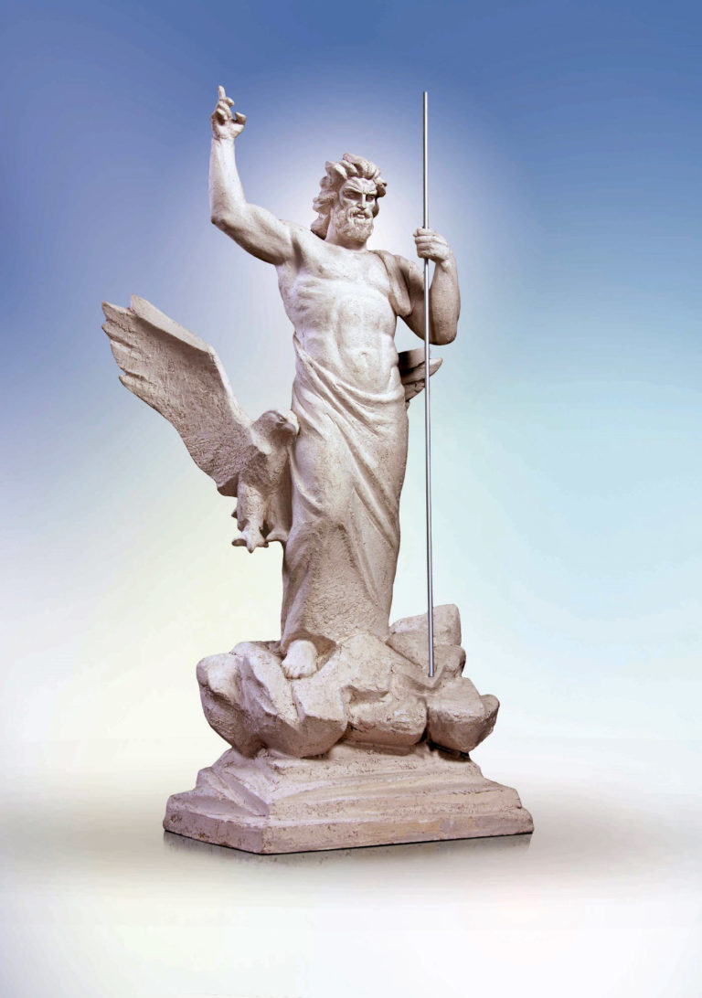 Zeus the Thunderer. 2005. - 32 768x1092
