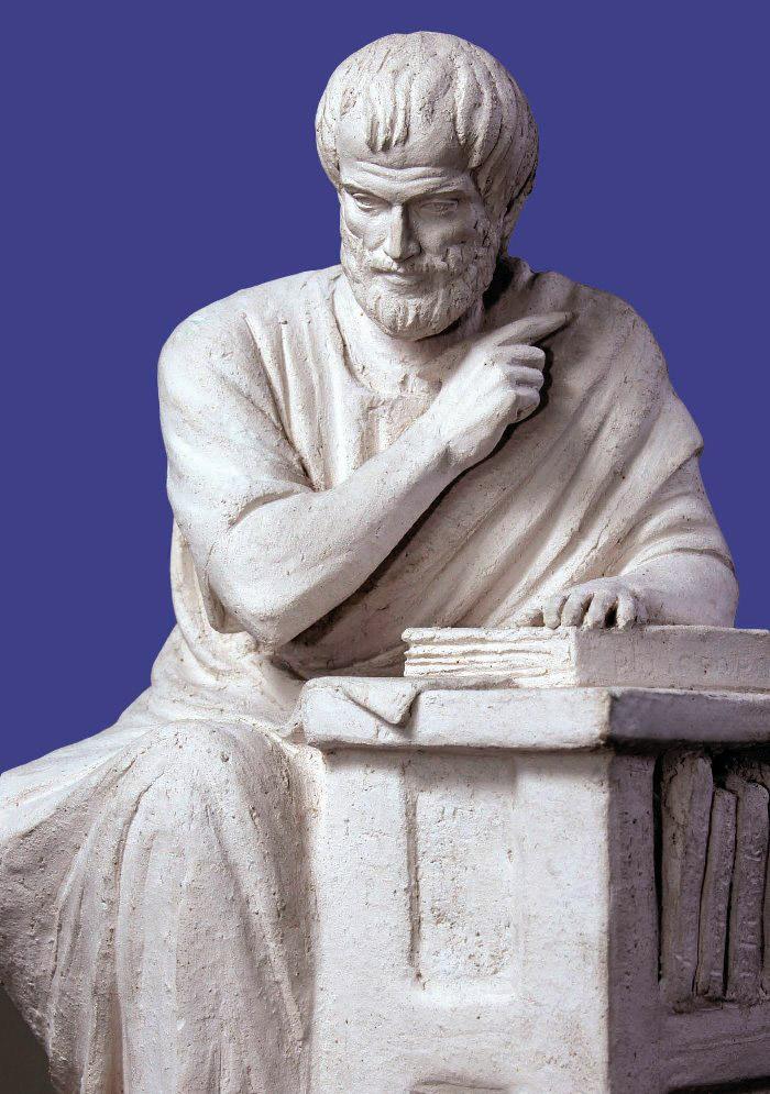 Аристотель 1. 2007. Шамот. 46 х 31 х 29.