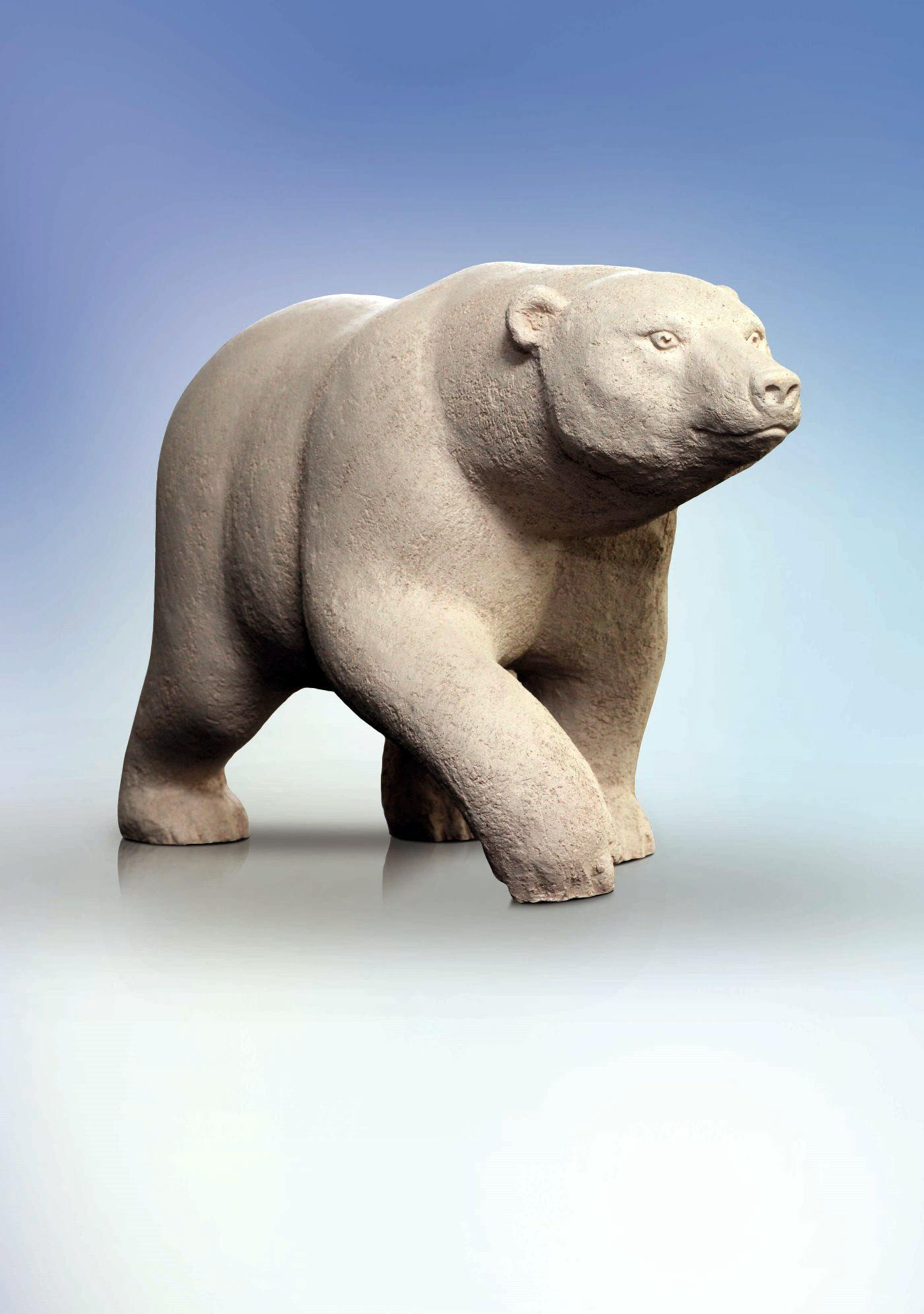 Белая Медведица. 2010. Шамот. 35 х 22 х 66.