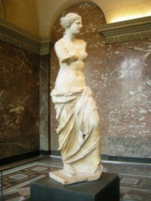 Найвідоміші скульптури всіх часів і народів - afrodita milosskaya grecziya 300x400