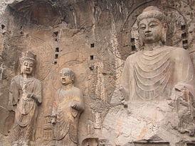Найвідоміші скульптури всіх часів і народів - longmen grottoes 3
