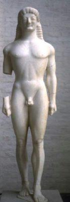 Скульптура мужчины в искусстве Античной Греции - apollo of tenea glyptothek munich 168 139x400