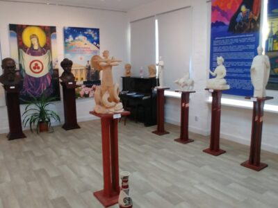 Выставка «Великие Учителя человечества» Алексея Леонова в Изваре. - img 20200817 wa0004 400x300