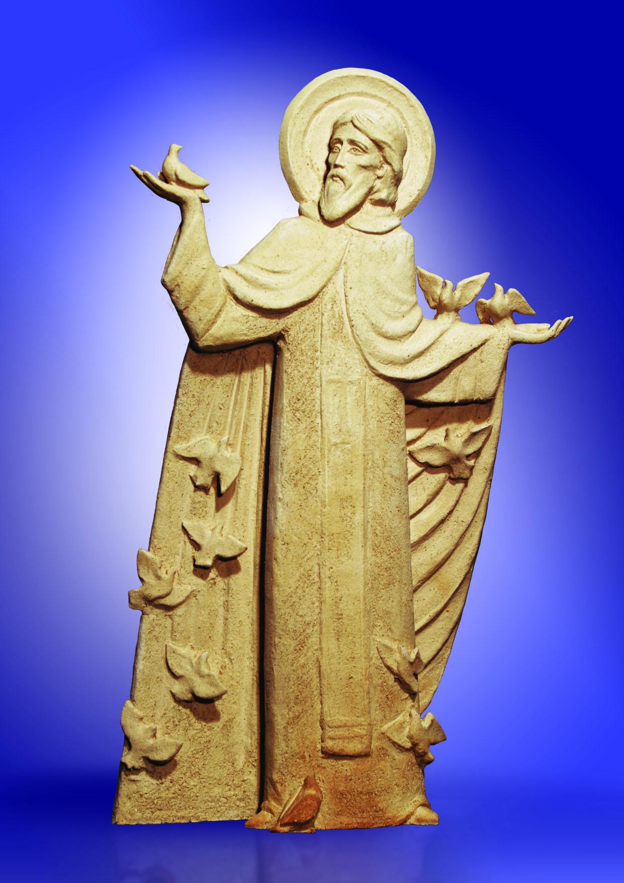 St. Sergius with Birds. 2007 - 12