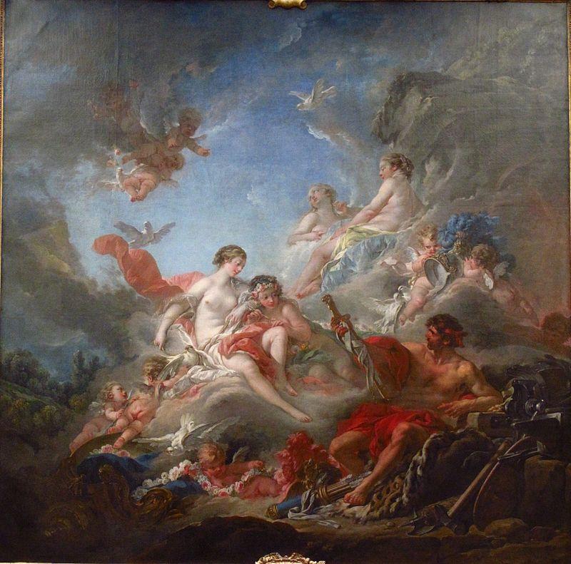 Скульптура рококо: «время Купидона и Венеры» в искусстве - 7342a213 c300 4ea9 bb9f 3f525b7b77db boucher  1757