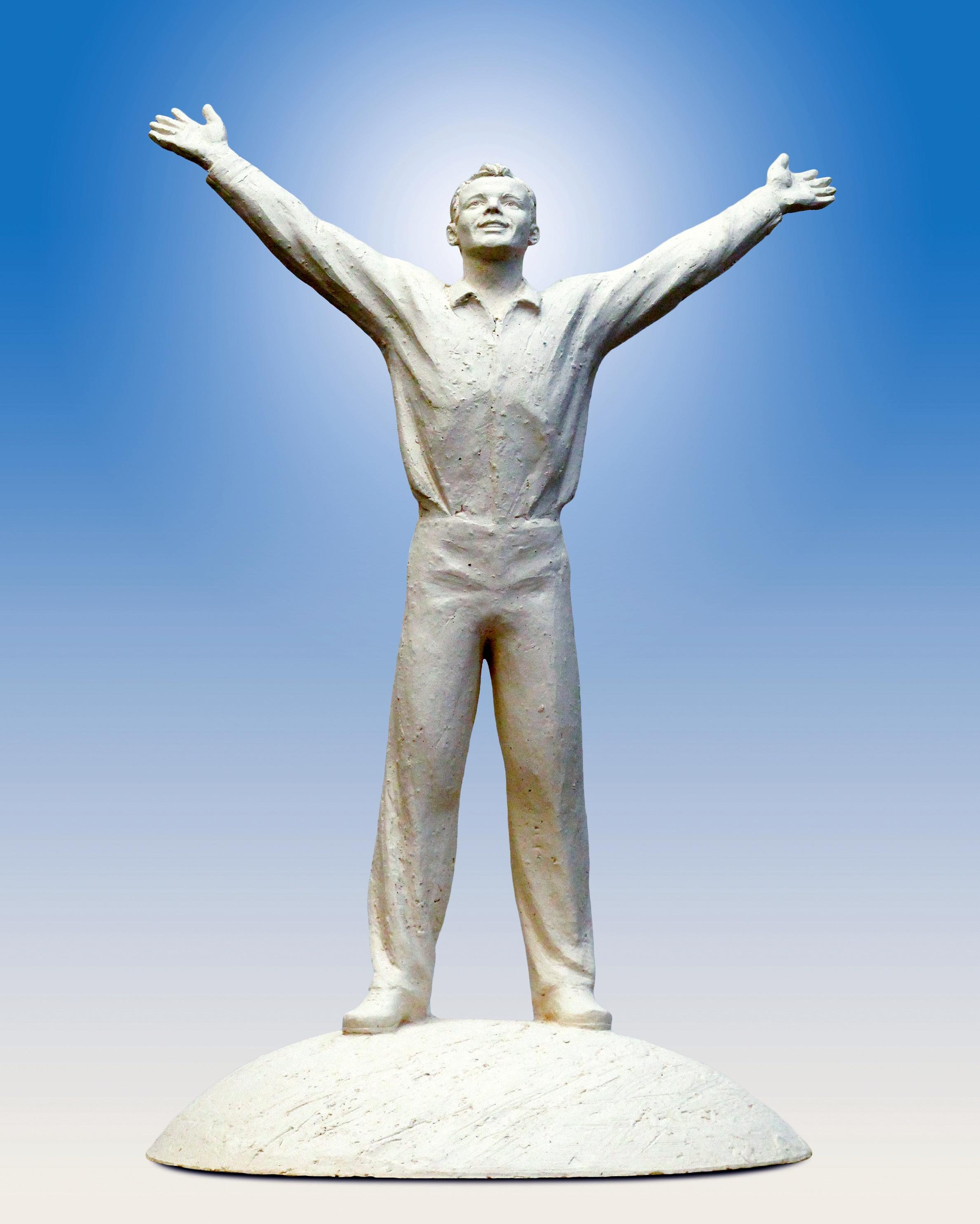 Юрій Гагарін. Проект пам'ятника. 2010 - img 20190309 161624 688