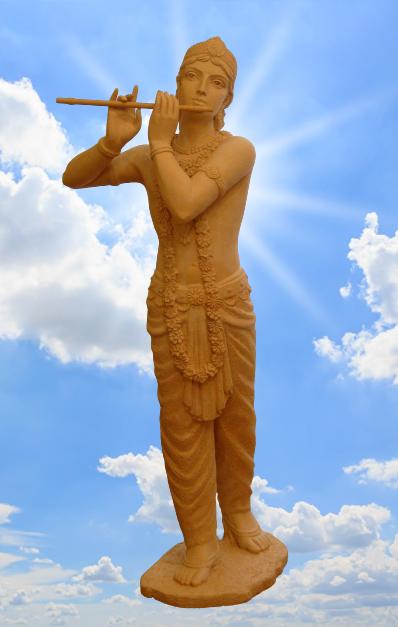 Krishna with a flute. 2009 - krishna2 removebg preview