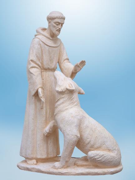 Святий Франциск із вовком. 2020 - franczisk asizskij removebg preview 1